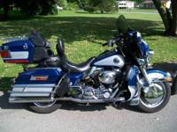 1999 Harley Davidson Ultra Classic. The bike has 43,100