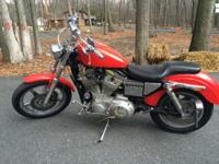 1999 Harley Davidson 883 sportster with 1200 kit. S+S