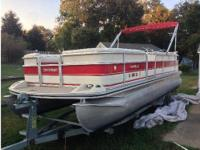 1999 Harris Floteboat Classic, CD, Trailer, Surge