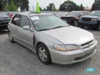 Options Included: N/AHonda Accord 4 dr EX L4 2.3L auto