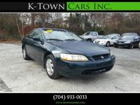 Options:  1999 Honda Accord Ex Coupe 2D|Green|No