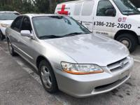 This 1999 Honda Accord Sdn 4dr Sdn EX Manual is offered