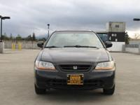 Options:  1999 Honda Accord Ex V6 2Dr Coupe|Black|Abs -