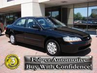 Options Included: N/A1999 HONDA Accord Sdn 4dr Sdn LX