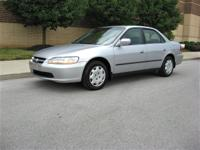 Options Included: N/A1999 Honda Accord LX -- Hard to