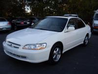 1999 Honda Accord White 4dr Nice Car Very Reliable