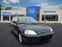 Perfect example of a well maintained ONE OWNER Honda