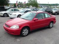 Options Included: N/ALOW MILES!!!! 1999 Civic Ex coupe.