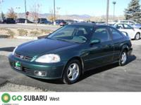 Options Included: 4-Cyl, VTEC, 1.6 Liter, Manual,
