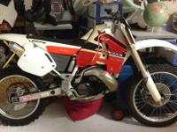 1999 Honda CR 500 Motorcycle for Sale. $2500, sold with