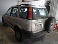 1999 Honda CR-V ROLLOVER with $153,220 miles. Chosen to