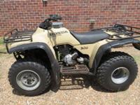 Have 1999 model Honda ATV for sale. It's a Fourtrax