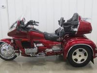 This is Honda's best Goldwing ever built and is good