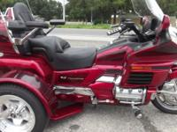 1999 HONDA GOLDWING TRIKE, ANNIVERSARY EDITION ONLY
