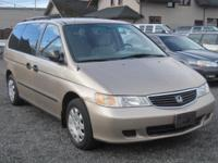 1999 Honda Odyssey Will be auctioned at The Bellingham