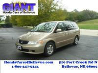This 1999 Honda Odyssey EX is offered to you for sale