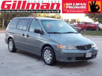 A perennial favorite of ours, the 1999 Honda Odyssey
