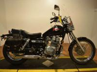 1999 Honda Rebel 250cc cruiser with a windshield and