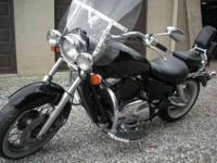 I have for sale a 1999 honda shadow 1100 ace. It has