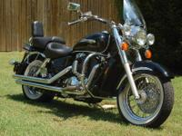 For Sale: 1999 Honda Shadow Aero 1100 motorcycle. This