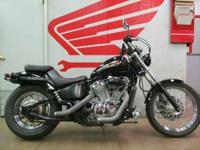 1999 Honda Shadow VLX Deluxe ready for your finishing