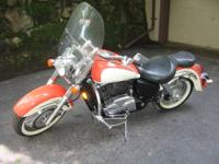 1999 Honda Shadow VT1100C3X (Aero) In brand new