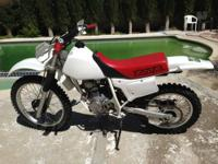 So, I'm putting up my dirt bike for sale. It is a 1999