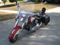 1999 Indian Chief bike. Number 509 out of 1100 made.