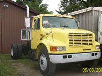 Truck runs and drives excellent has direct mount pto.