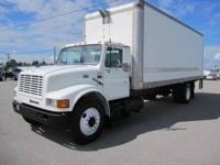 1999 INTERNATIONAL 4700 DT 466E BOX TRUCK Our Location