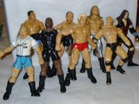 1999 Jakks Pacific WWE Wrestling Action Figures - Lot