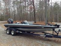,,,,,1999 Javelin Renegade 20ft Bass Boat with 225 HP