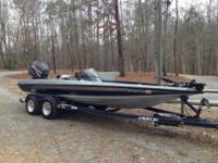 1999 Javelin Renegade 20ft Bass Boat with 225 HP