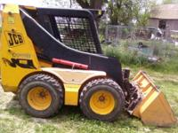 1999 JCB SKIDSTEER FOR SALE 907 ORIGINAL HOURS, GREAT