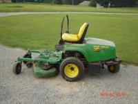 1999 John Deere F620, commercial zero turn mower. 20hp