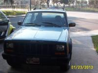 1999 JEEP CHEROKEE SPORT WITH ONLY 66351 MILES, ONE