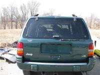 Parting out a 1999 Jeep Grand Cherokee V8, 4x4,