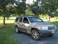 I have a 1999 Jeep Grand Cherokee Laredo for sale. It
