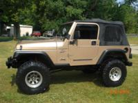 I have for sale a 1999 wrangler sport that has only