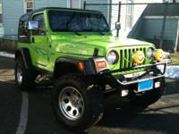 For sale is a 1999 Jeep Wrangler Rubicon 187,000 miles,