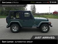 Forest Green 1999 Jeep Wrangler Sport 4x4, local