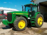 Description Make: John Deere Year: 1999 8500 Hours,