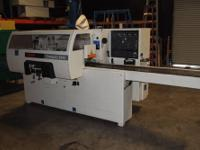 JOOS DLP-115 Through-Feed Hot Veneer Press ** 1 OF ONLY
