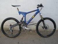 1999 K2 EVO 1000 FULL SUSPENSION MOUNTAIN BIKE