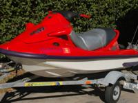 Fast 3-seat 1999 Kawasaki 1100 STX. Barely used, has