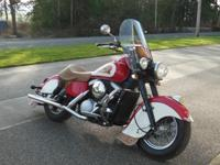 This bike has all the looks of an Indian Chief of