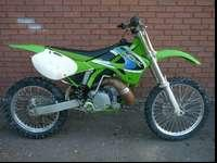 1999 Kawasaki KX250. This bike is in good condition.