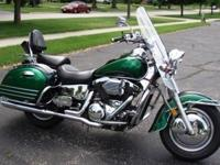 I'm selling my beautiful 1999 Kawasaki Vulcan Nomad