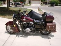 For sale is a 1999 Kawasaki 1500ccVulcan Drifter with