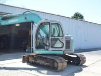 A very clean machine. 1999 Kobelco 70SR 1999 Kobelco